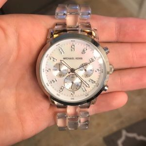 Michael Kors Mother of Pearl Acrylic Watch